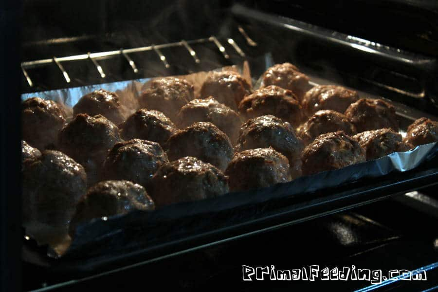turkey-balls-in-oven
