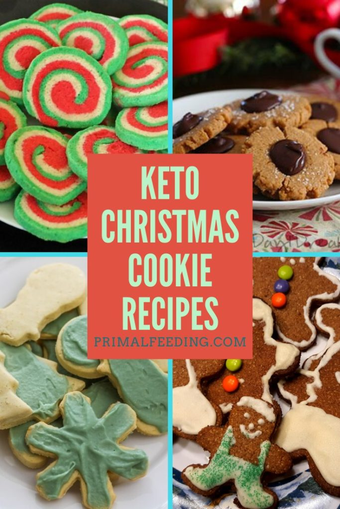 Keto Christmas Cookie Recipes Pinterest Pin