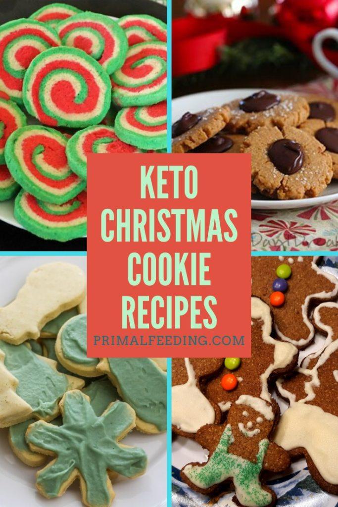 Keto Christmas Cookie Recipes Pinterest Pin